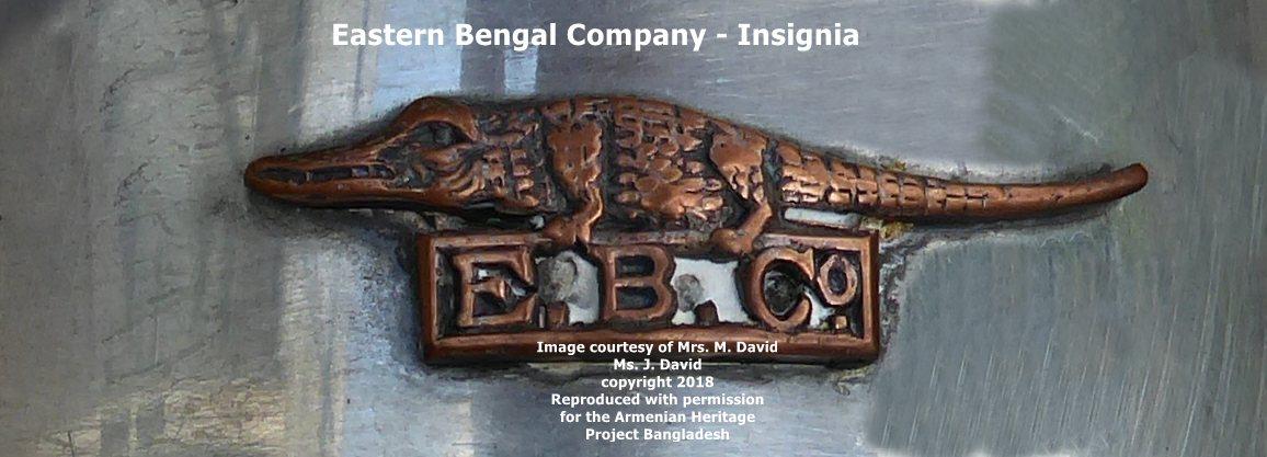 Eastern Bengal Company Crocodile Insignia