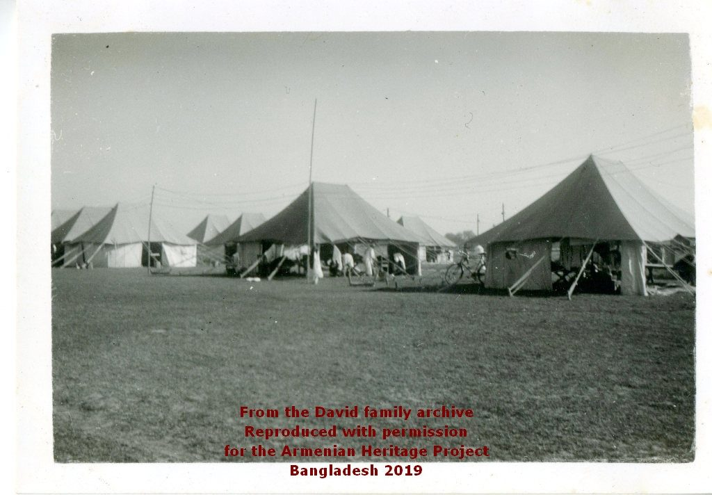 Eastern Bengal Company Tents