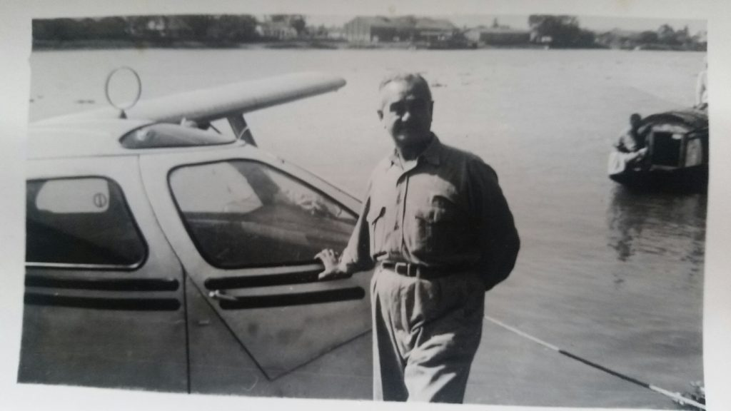 Haik used to travel to work using this seaplane. Image courtesy of Les Stewart.