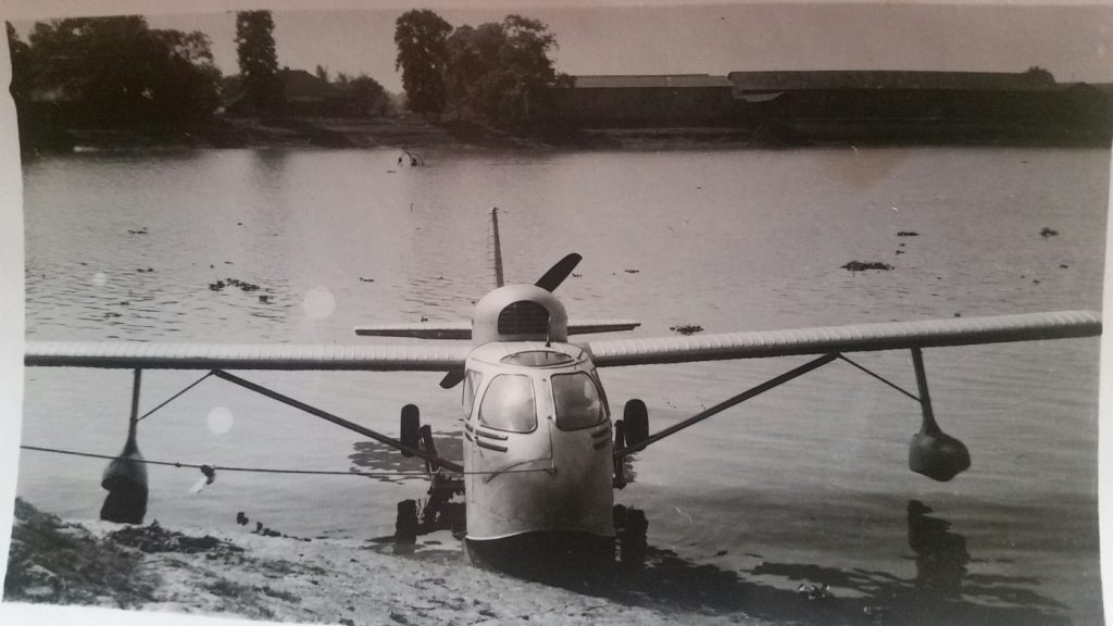 The sea plane used by Les's grandfather Haik