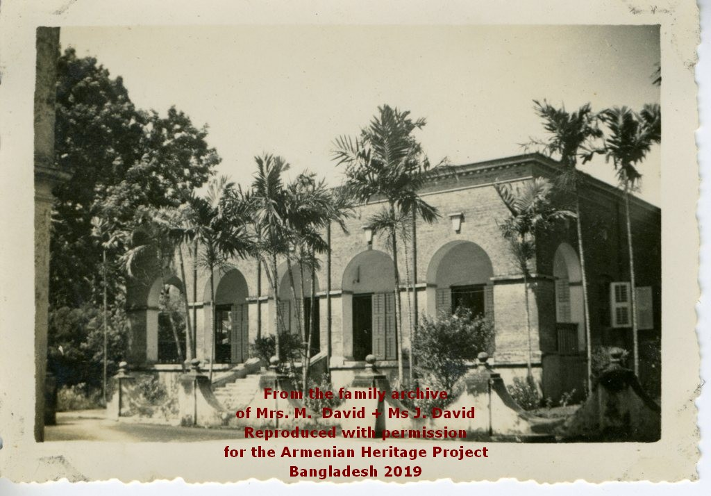 The Parsonage during Ter Bagrat's time