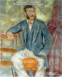 Joakim Gregory Nicholas Pogose, founder of the Pogose School, Dhaka