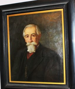 Original Oil Painting of Gregory Paul Melitus. Image: Liz Chater. Original portrait owned by the Melitus family.