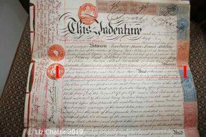 Marriage Settlement between Barbara Melitus and Kent Stephen