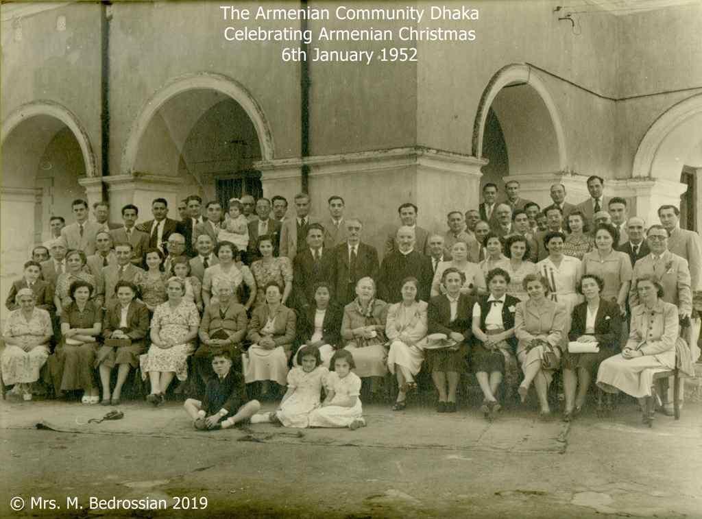 The Armenian Community Dhaka Christmas 1952